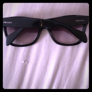 Authentic gorgeous black Prada sunglasses